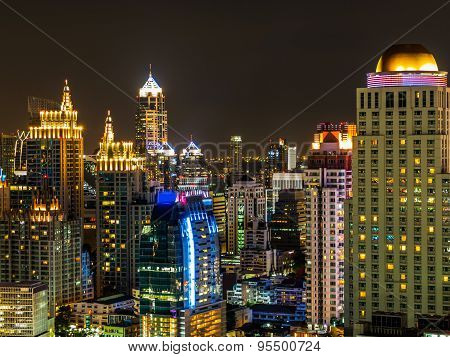 Night In Bangkok Thailand