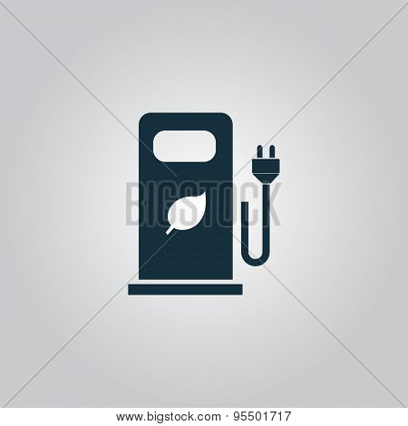Electric car charging station or Bio fuel petrol