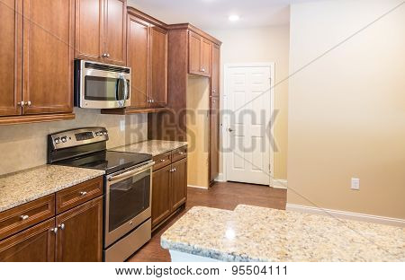 Granite Countertops In New Kitchen