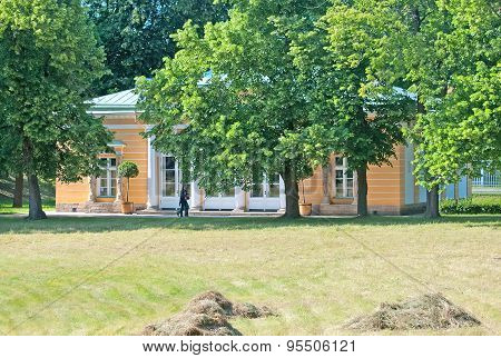 Tsarskoye Selo (Pushkin). Saint-Petersburg, Russia. The Evening Hall