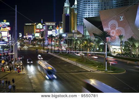 Las Vegas Blvd Night