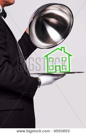 Butler Serving A New Home