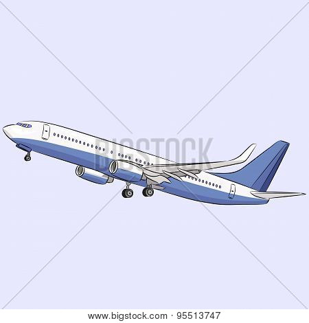Vector. Aircraft.