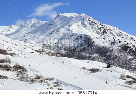 French Alps Skiing