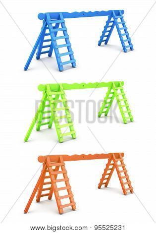 Ladders For Playground Different Color