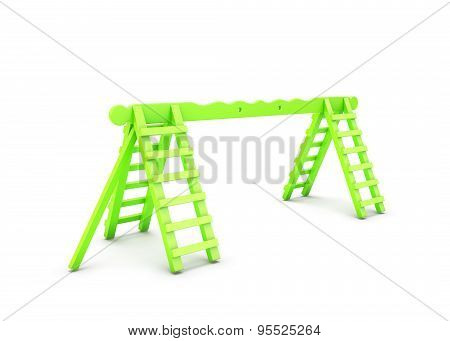 Green Element A Playground Ladder