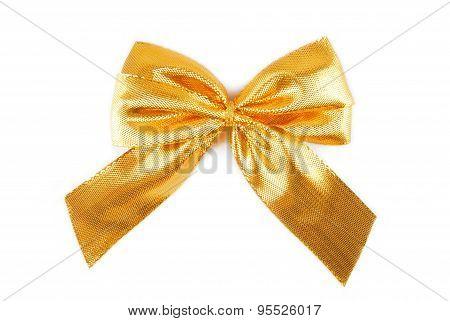 golden bow ribbon
