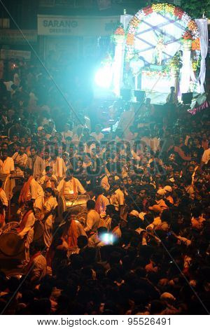 Ganesh Festival Crowds