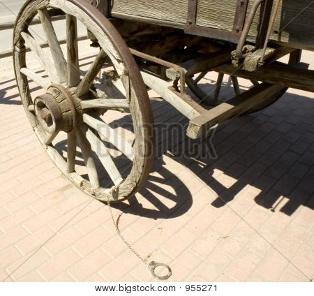 Cuffs And Wagon Wheel