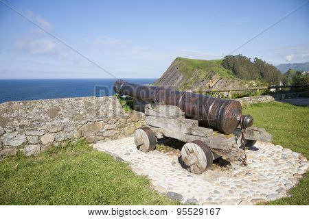 Ancient Cannon Waterfront