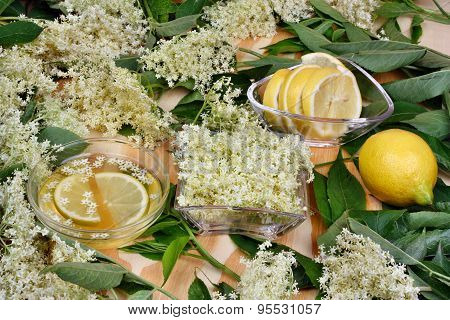 Health Syrup  From Elderberry Flowers
