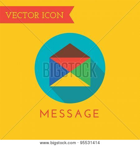 E-mail Icon Vector Logo. Shop, Money or Commerce and Computer symbol. Stock Design Element.