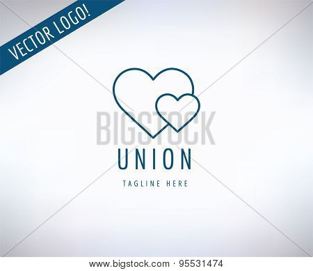 Heart Icon Vector Icon. Love, Health or Doctor and Relations symbol. Stock design element.