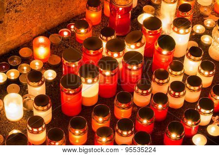 Candles of memory