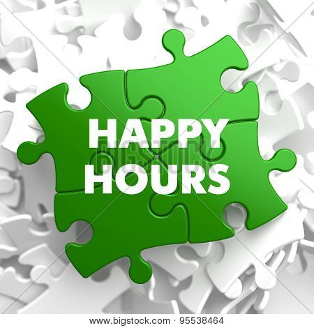 Happy Hours on Green Puzzle.