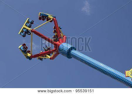 Upside down in high speed
