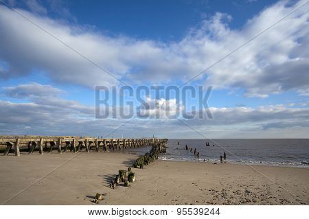 Walberswick Beach, Suffolk, England