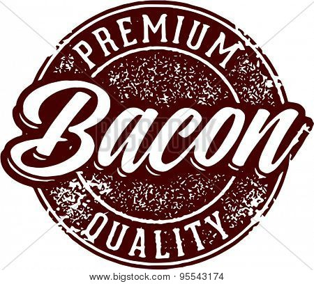 Premium Quality Bacon Stamp