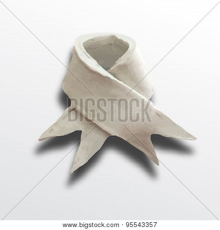 Ribbon white
