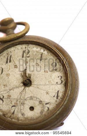 Broken Vintage Pocket Watch