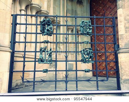 Gate of St Vitus Cathedral