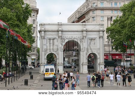 Marble Arch, London England