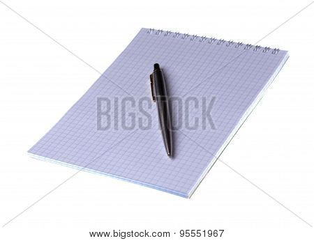 Ball Pen Isolated On White Background