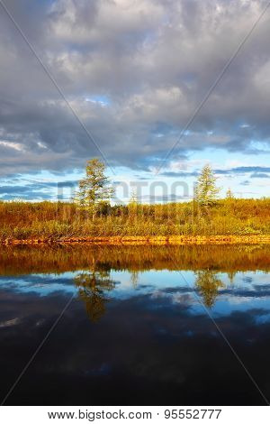 Beautiful landscape in Taimyr, Russia