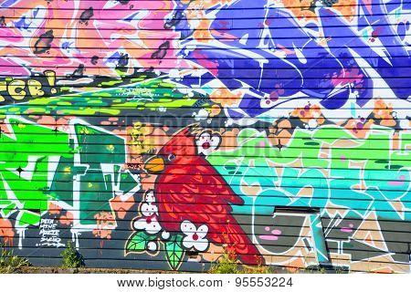 Cardinal mural