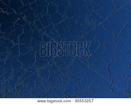 Grunge Blue Plaster
