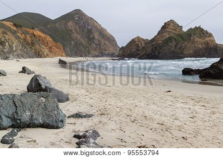 Beach In Big Sur