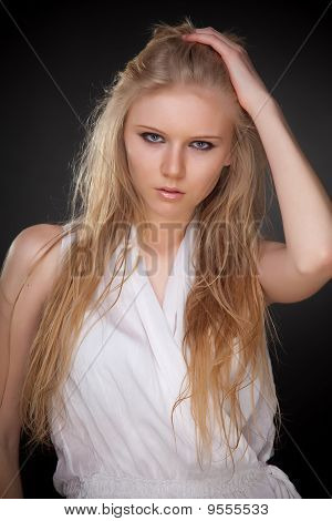 Sexy Young Blond Girl