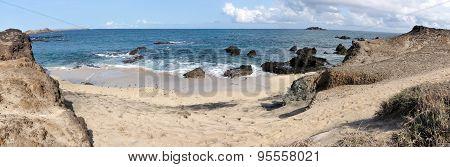White Sand Beach And Dunes