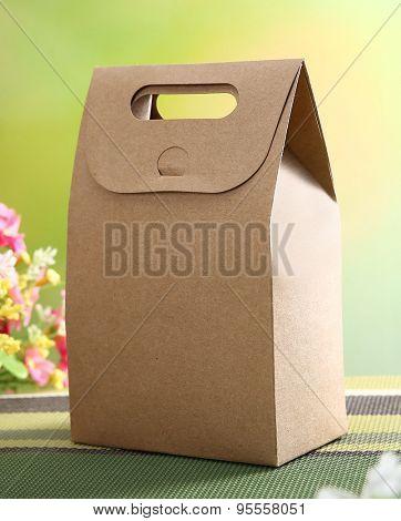 Cardboard Fast Food Box