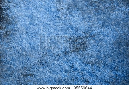 Blue Snow Grunge For A Textured Background