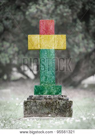 Gravestone In The Cemetery - Bolivia