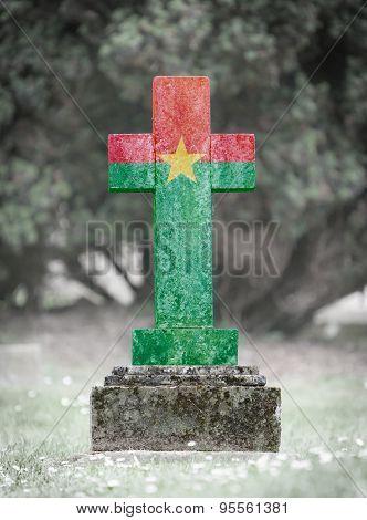 Gravestone In The Cemetery - Burkina Faso