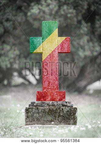 Gravestone In The Cemetery - Congo