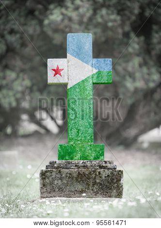 Gravestone In The Cemetery - Djibouti
