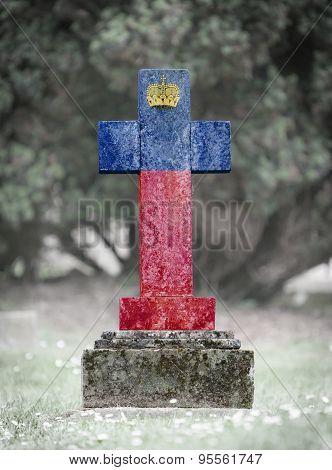 Gravestone In The Cemetery - Liechtenstein