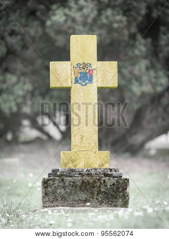 Gravestone In The Cemetery - New Jersey