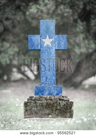 Gravestone In The Cemetery - Somalia