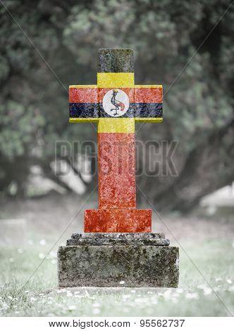 Gravestone In The Cemetery - Uganda