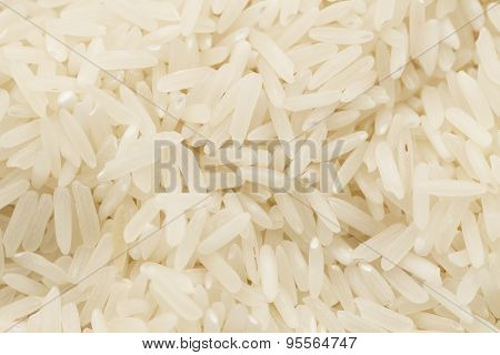 The Background Of Long-grain Rice, Macro