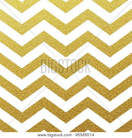 Gold glittering zigzag wave backgrouns