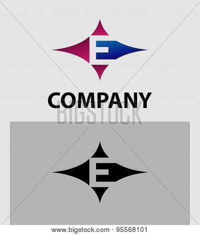 Alphabetical Logo Design Concepts. Letter E