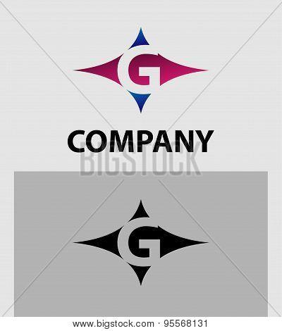 Alphabetical Logo Design Concepts. Letter G