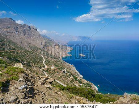Amorgos island landscape