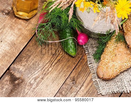 Organic Farming Food