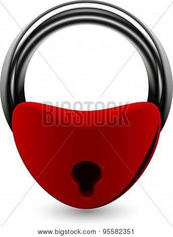 the padlock